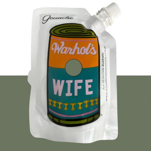 Australian Grey Gouache Paint Warhol's Wife