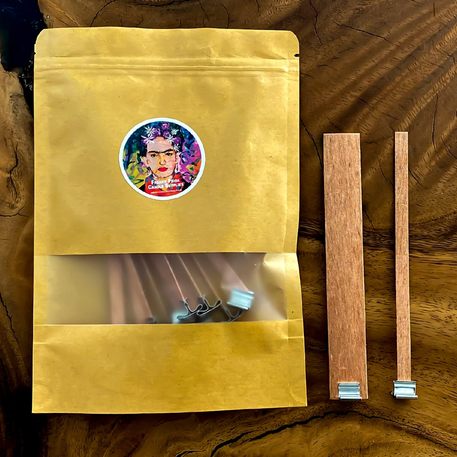 Wooden Wicks Candle Make
