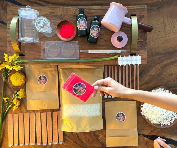 Intermediate Candle Kit Art Materials Australia