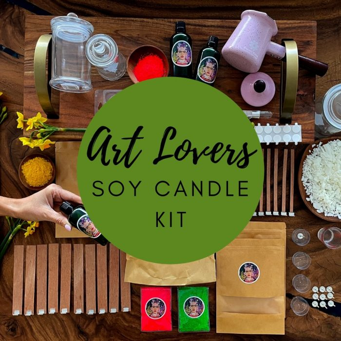 Soy Candle Kit Art Lovers