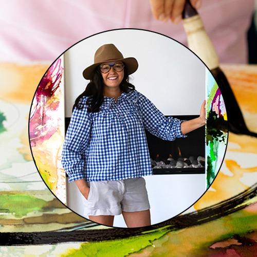 Online Beginner Painting Video Jessica Baker