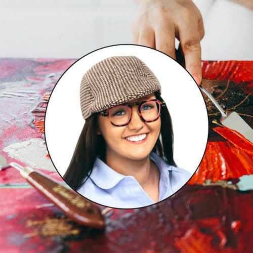 Online Acrylic Painting Video with Australian artist Jessica Baker