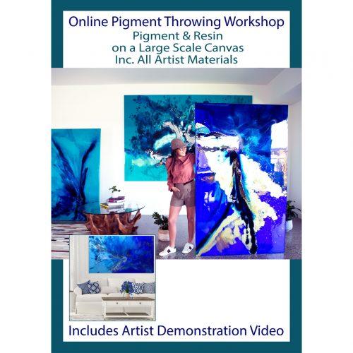 Learn Resin Workshop with Artist Jessica Baker