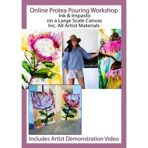 Online Beginner Painting Class with Artist Jessica Baker