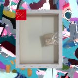 """Box of 20 11x14"""" Thick Frame Cotton Artvalli Stretched Blank Canvas"""