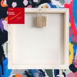 """Box of 10 14x14"""" Thick Frame Cotton Artvalli Stretched Blank Canvas"""